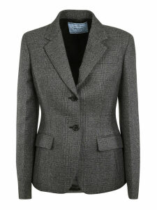 Prada Single Breasted Blazer