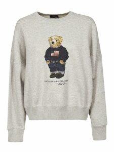 Bear Print Sweatshirt