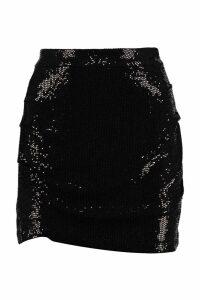 Marcelo Burlon Sequin Mini Skirt