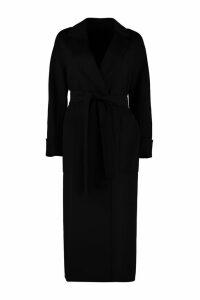 S Max Mara Algeri Virgin Wool Long Coat
