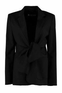 Max Mara Venere Stretch Wool Blazer
