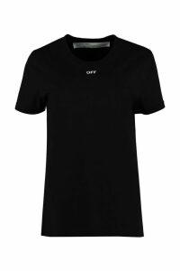 Off-White Crew-neck Cotton T-shirt