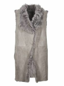 Salvatore Santoro Faux Fur Coat