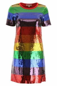 MICHAEL Michael Kors Multicolor Sequin Mini Dress