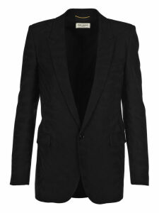 Saint Laurent shadow Zebra Virgin Wool Blazer