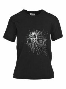 Saint Laurent Saint Laurent Light Beam Print T-shirt