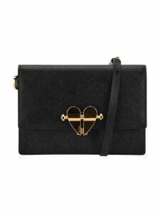 Prada Heart Detail Crossbody Bag