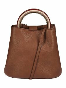 Marni Ring Handle Bucket Bag