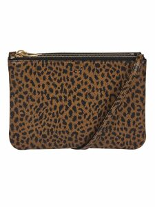 Celine Leopard Print Shoulder Bag