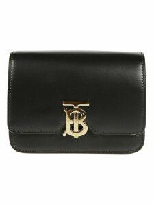 Burberry Logo Plaque Shoulder Bag