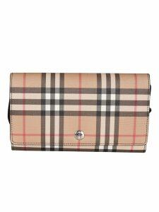 Burberry Hannah Check Shoulder Bag