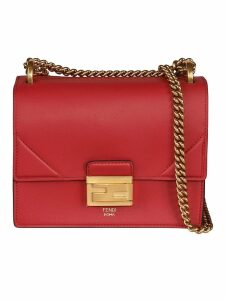 Fendi Kan U Vernice Small Old Grace Shoulder Bag