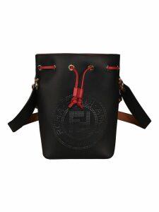 Fendi Kan U Vernice Old Grace Shoulder Bag