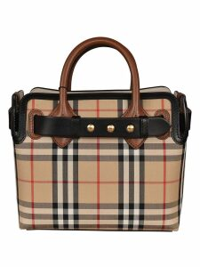 Burberry Baby Belt Checked Tote