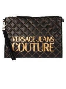 Versace Jeans Couture Macro Logo Clutch