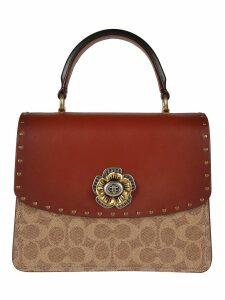 Coach Embellished Shoulder Bag