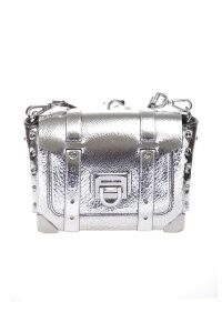 Michael Michael Kors Manhattan shoulder bag in metallic leather