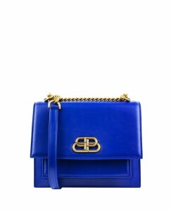 Balenciaga Blue Sharp Bag S
