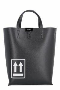 Off-White Printed Tote Bag