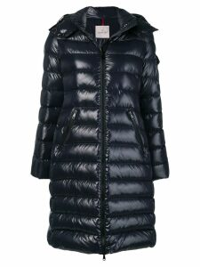 Moncler midi padded coat - Blue