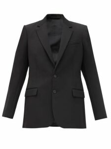 Wardrobe. nyc - Single Breasted Wool Blazer - Womens - Black
