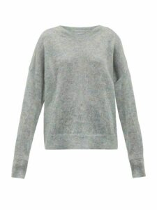 Isabel Marant Étoile - Cliftony Mohair Blend Sweater - Womens - Grey