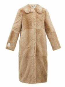 Stella Mccartney - Alter Faux Fur Coat - Womens - Beige
