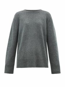 The Row - Sibel Oversized Wool Blend Sweater - Womens - Grey