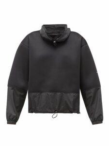 Adidas By Stella Mccartney - Run Contrast Panel Sweatshirt - Womens - Black