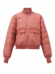 Adidas By Stella Mccartney - Padded Bomber Jacket - Womens - Red