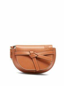 Loewe - Gate Mini Leather Belt Bag - Womens - Tan