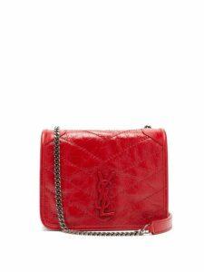 Saint Laurent - Niki Mini Leather Cross Body Bag - Womens - Red