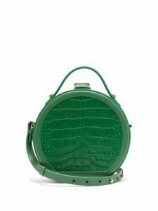 Nico Giani - Tunilla Mini Crocodile Effect Leather Bag - Womens - Green