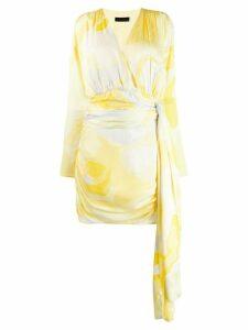 Stine Goya Madison ruched mini dress - Yellow