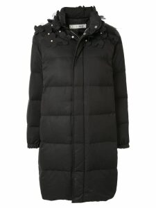 Tu es mon TRÉSOR padded down coat - Black