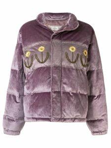 Tu es mon TRÉSOR Dandelion jacket - Purple