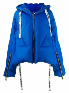 Khrisjoy hooded padded jacket - Blue