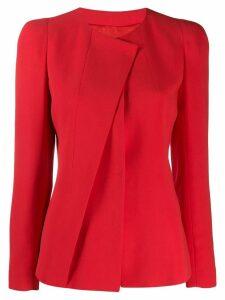 Giorgio Armani asymmetric blazer - Red