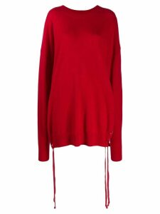 Faith Connexion oversized jumper - Red