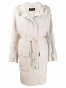 Loro Piana hooded coat - Neutrals