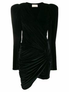 Alexandre Vauthier ruched dress - Black