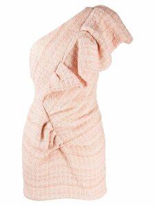 Alexandre Vauthier one-shoulder dress - Pink