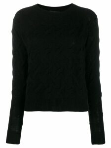 Theory long sleeved sweater - Black