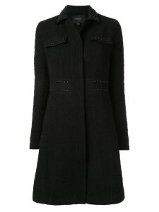 Giambattista Valli stud detail coat - Black