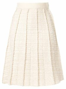 Giambattista Valli tweed midi skirt - Neutrals
