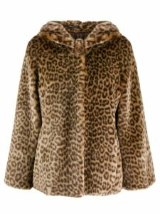 Tagliatore Kate faux-fur jacket - Brown