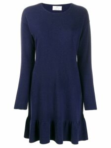 Allude knitted mini dress - Blue