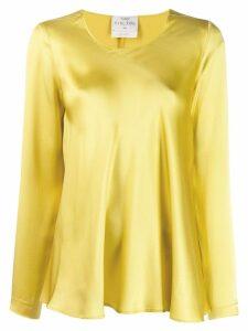 Forte Forte satin blouse - Yellow