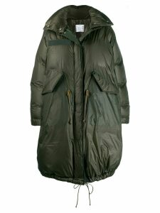Sacai padded parka - Green