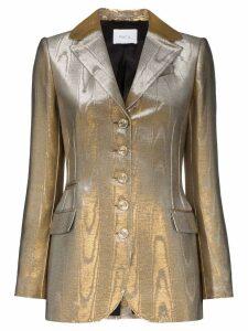 Racil Curtis buttoned blazer - Gold